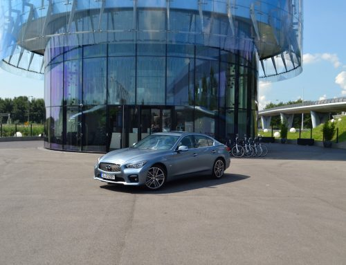 Test Infiniti Q50 2.2d Performance Edition